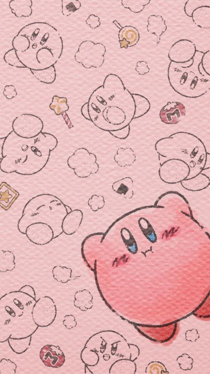 atokyojourney:  New kirby wallpapers released on Nintendos line...