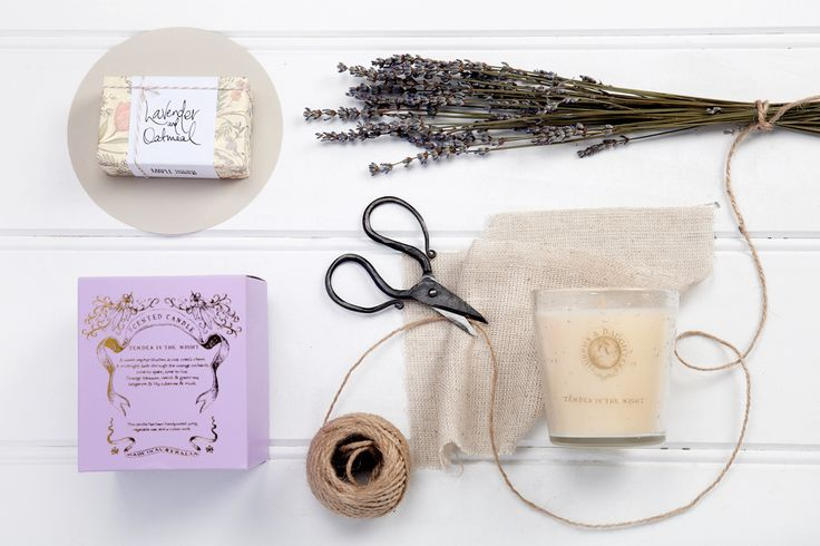 Lovely Lavender- available now at thespecialdeliverycompany.com.au Murphy & Daughter's hand poured, pure vegetable soy wax candles (270 grams, 60-70 hour burn time) and Australian company Maple Soaps Lavender & oatmeal (135g) handmade soap made with the highest grade of vegetable oils, butters, clays and essential oils, and hand wrapped into small, delightfully smelling little packages of love for you to enjoy
