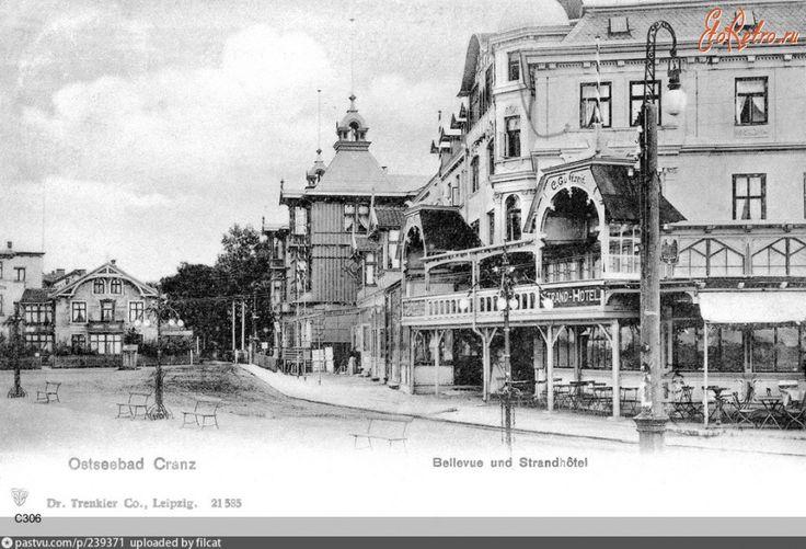 Зеленоградск - Cranz. Strand-hotel. 1900—1914, Россия, Калининградская область, Зеленоградский район, Зеленоградск