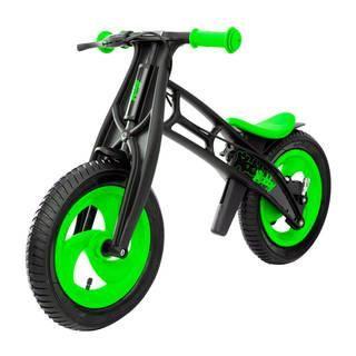 """Hobby-Bike RT Fly A Черная Оса (черно-зеленый)  — 5374р. ------- Новинка 2016 по немецкой лицензии Hobby-Bike Fly """"Черная оса"""" - беговел, созданный по немецким технологиям. Высокое европейское качество, инновации и функционал. Уникальность модели Fly - самое низкое положение сиденья - 30,5 см. Благодаря съемным пластиковым деталям вы сможете установить сиденье на высоту 42 см. Устойчивость, эргономичность и надежность позволит самым маленьким малышам от 2 лет быстро и без страха освоить этот…"""
