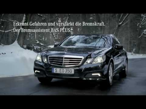 Commercial for Mercedes E class car. As seen in in German TV. I found two other clips here on Youtube but with bad quality.  So, I uploaded a clip in the quality as aired by German TV (ZDF) in standard definition quality. Which required triggering HD quality for Youtube ;) So, I scaled from 576i to 720p first.   UPDATE: I looked it up. Ac...