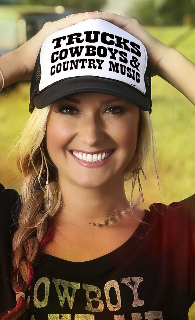 Trucks Cowboys Country Music Trucker Hat - Ali Dee Collection