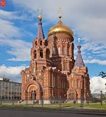 """Russia. St. Petersburg. """"Gutuevsky"""" island. Church of the Epiphany. Architect Vasily Kosjakov 1892. Byzantine decorations in the neo-Russian. Metal restoration was carried out with the participation of PROARTMET."""