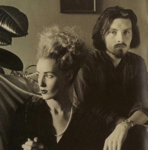 Lisa Gerrard and Brendan Perry  Dead Can Dance  questce via aynrandcommune  symphonyofghosts.tumblr.com