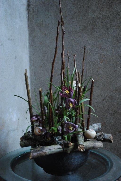 Gratis workshop i blomster dekoration