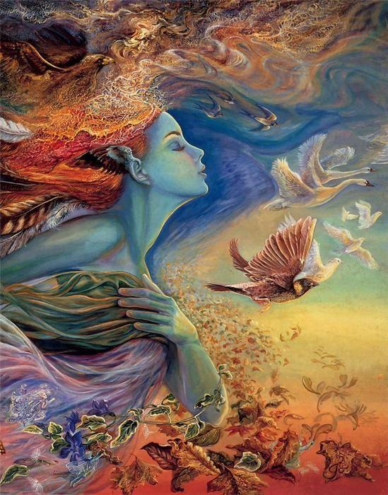 Жозефина Уолл (Josephina Wall) - картины в стиле фэнтези. Обсуждение на LiveInternet - Российский Сервис Онлайн-Дневников