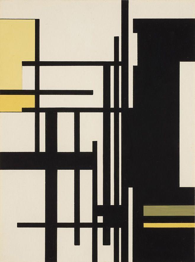 Total Geometrical Abstraction – Works by Belgian Artist Guy Vandenbranden | OEN