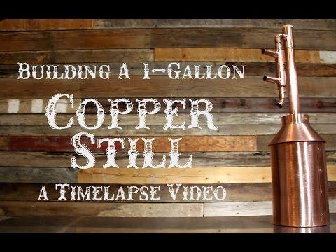 1 Gallon Copper Moonshine Still Kit – Copper Moonshine Still Kits - Clawhammer Supply