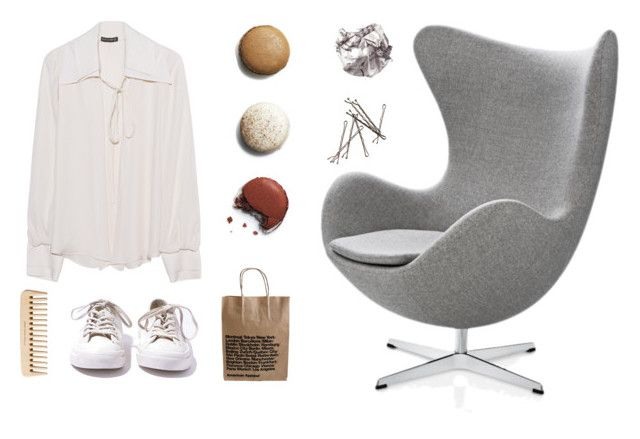 """""""Untitled #70"""" by line00 on Polyvore featuring Converse, Fritz Hansen, The Body Shop and Plein Sud"""
