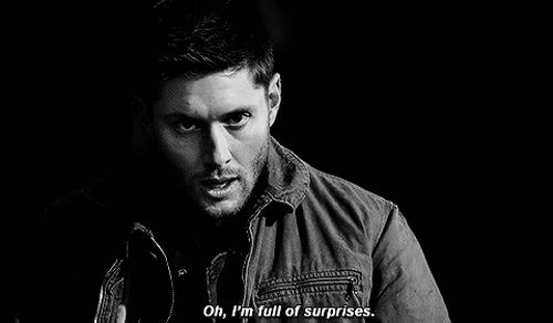 For my fellow Supernatural fans, Demon-eyed (mostly) Dean and Sam ...