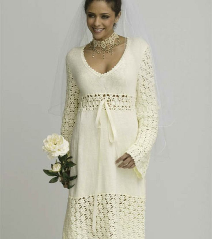 117 best crochet wedding images on pinterest boleros winter wedding dresswinter wedding dress crochet wedding dress patterncrochet junglespirit Image collections