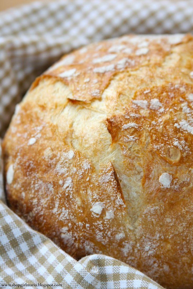 NY Times No-Knead Bread | Shopgirl