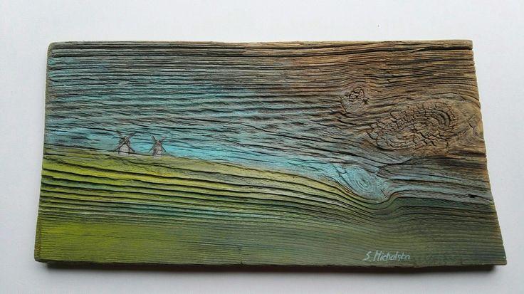 Obraz na desce, www.artpracownia.wordpress.com