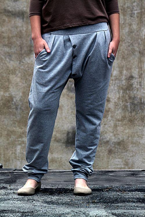 Freeform_Street kalhoty šedé