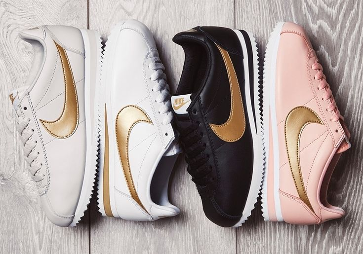 The Nike Cortez Glitter Pack is now available from JD Sports in a women's exclusive size run featuring Arctic Orange, White, and Black colorways. More: