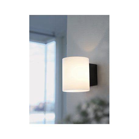 Herstal Evoke Glas Vit/Antracit Vägglampa