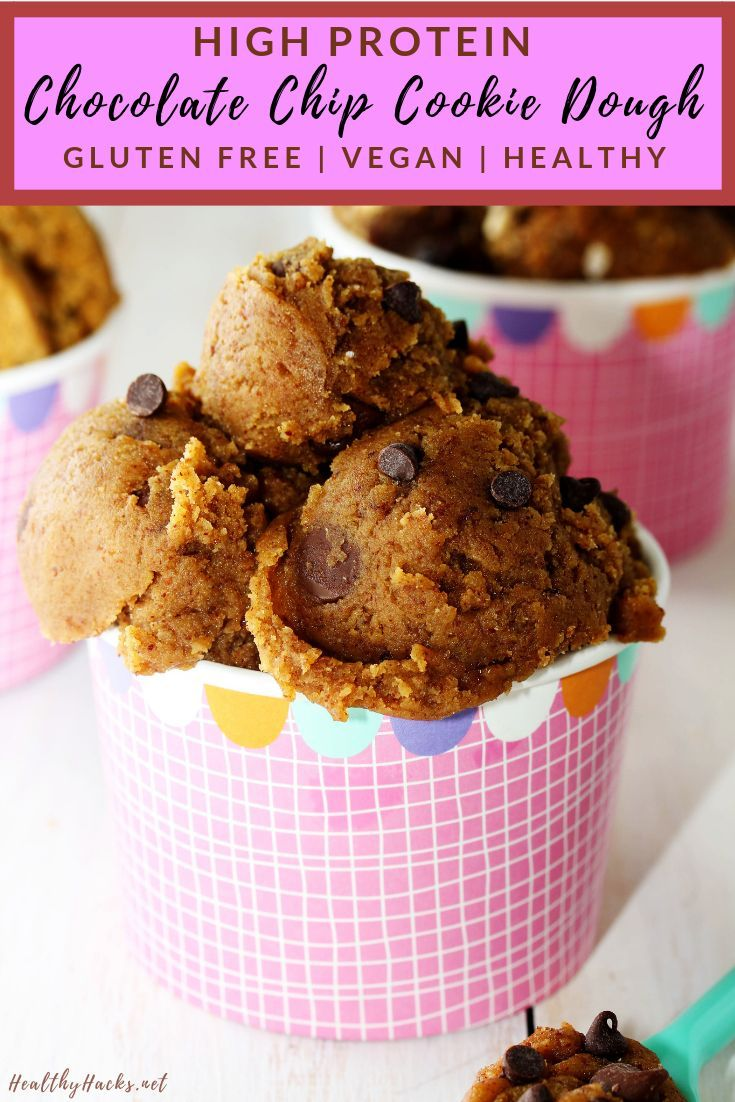 If You Re A Cookie Dough Fan You Need To Make This No Bake Healthy Dess Healthy Dessert Recipes Chocolate Healthy Dessert Recipes Easy Healthy Baking Desserts
