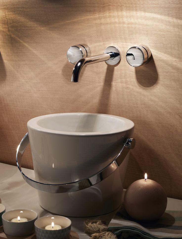 Texture Collection - Meneghello Paolelli Associati design #fimacarlofrattini #fmacf #texturecollection #bathroom #rubinetteria #design #faucet #lavaboaparete #wallmountedbasinmixer #chrome #luxury