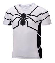 2015 Yeni Superman Süper Kahraman likra sıkıştırma tayt spor T Gömlek Erkekler spor giyim kısa kollu Artı Boyutu S-6XL(China (Mainland))