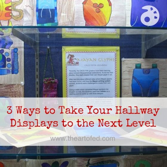 Take Your Hallway Displays to the Next Level!