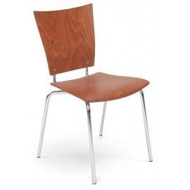 Dřevěná srohá židle MEDEA