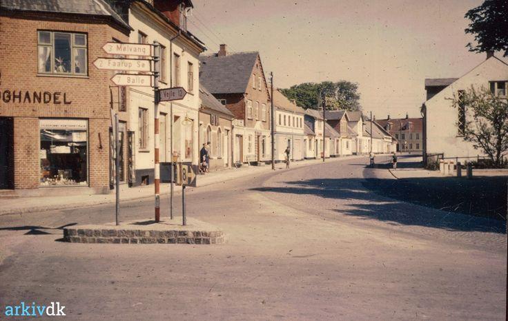 arkiv.dk | Gormsgade, vestlig husrække, ca. 1957