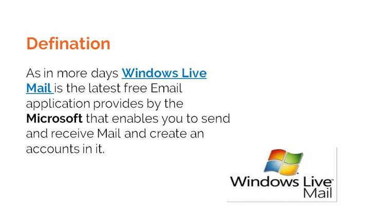 In the modern era Windows Live Mail is used to communicate either in formal or informal conversation. You can also retrieve   mails from the server, we are here at http://www.emailphonenumbers.com/windows-live-mail-phone/Windows live mail phone +1- 877-424-6647.