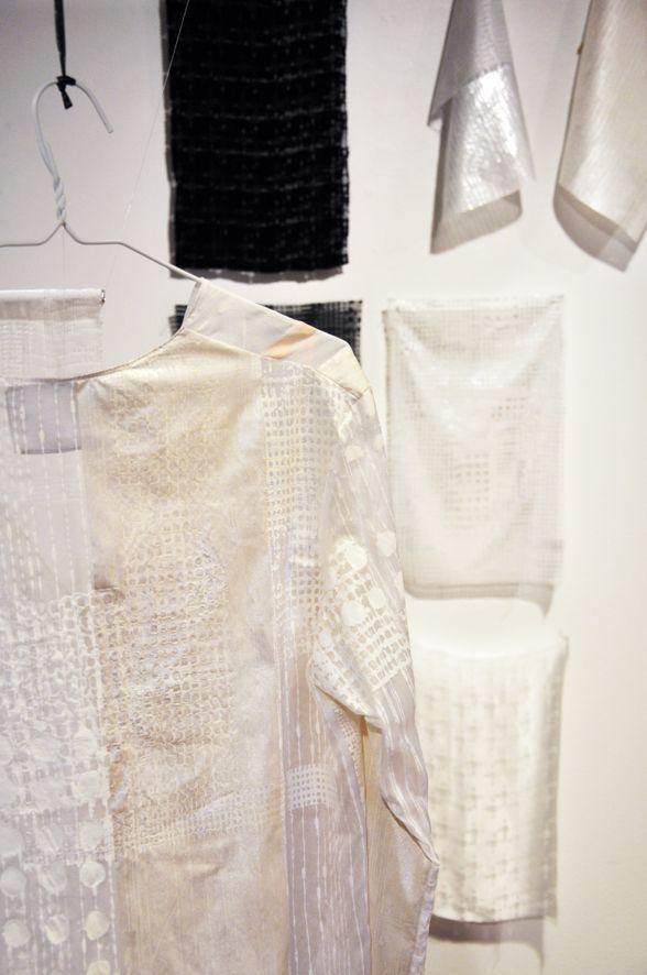 Justine Grazide Finissantes design et impression textile, Montréal 2015 www.designtextile.qc.ca