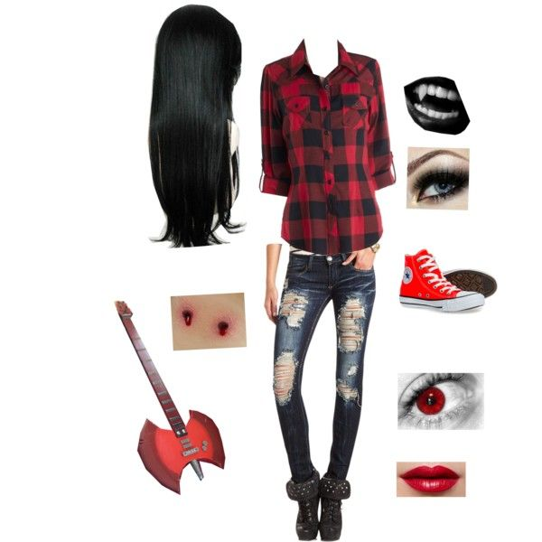 It would be so easy to whip up a Marceline costume