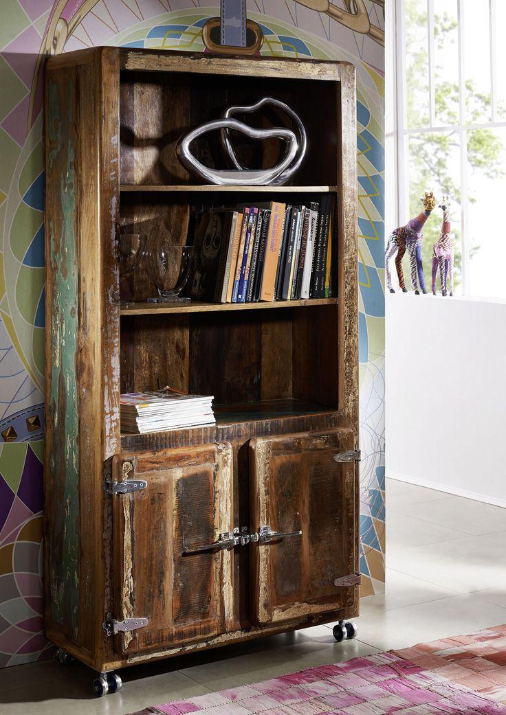 die besten 25 altholz regal ideen auf pinterest schwebende regale diy holzregale und. Black Bedroom Furniture Sets. Home Design Ideas