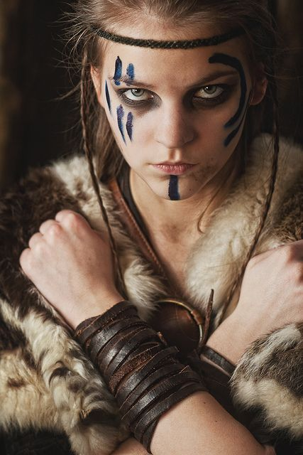 1000+ ideas about Viking Makeup on Pinterest | Warrior makeup, Viking braids and War paint