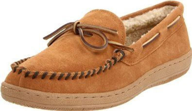 L.B. Evans Men's Morgan Moccassin L.B. Evans. $36.95. suede. Fit: True to Size. Features of this item include: Comfortable, Contrast Stitching, Cushioned, Flannel, Latex, Leather, Padded Footbed, Shearling, Suede. Insole: Foam. Upper: Suede. Rubber sole