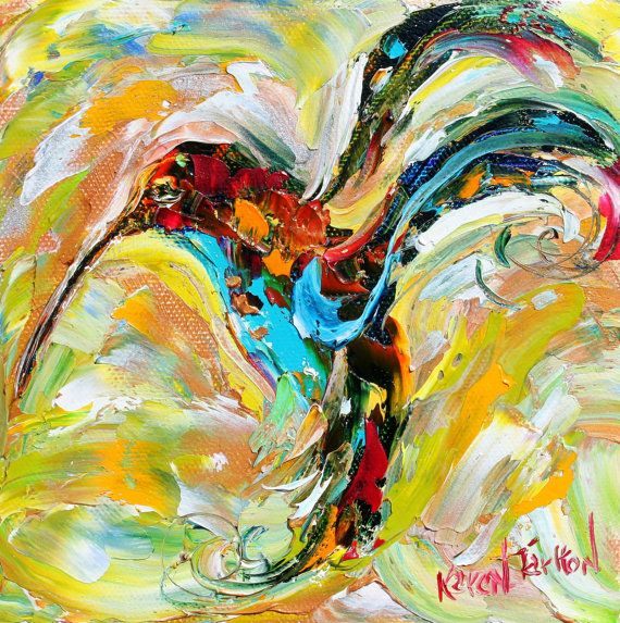 Bird paintings abstract - photo#10