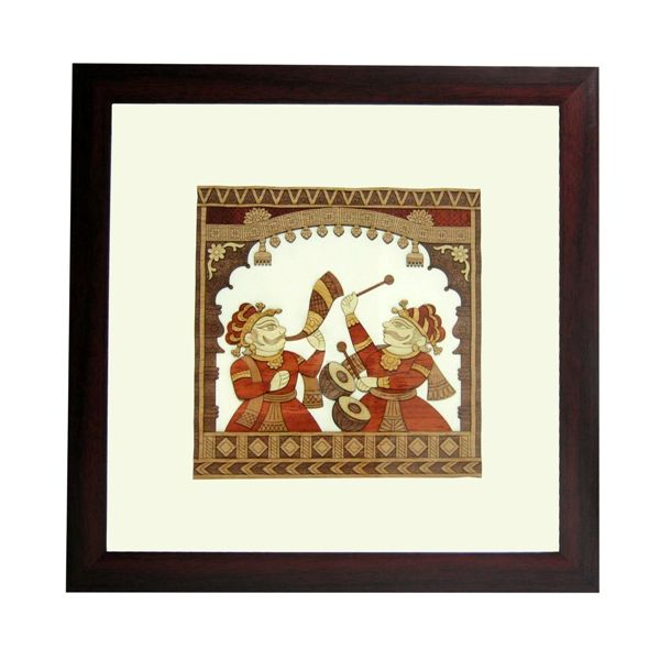 Rajasthani Folk Art Frame - Rs.1,980