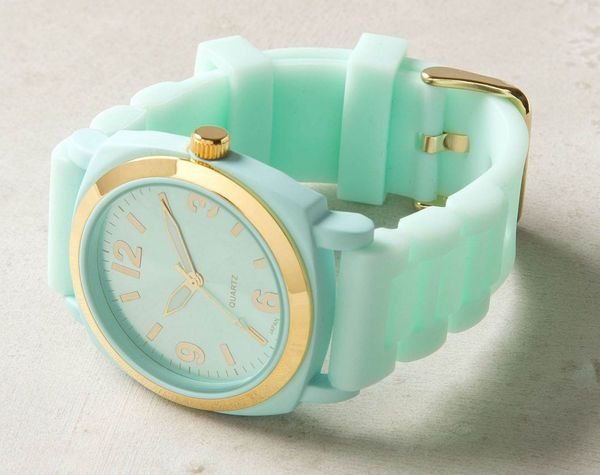MintyMintgreen, Mint Green, Mint Gold, Colors, Tiffany Blue, Mint Color, Viscid Watches, Gold Watches, Mint Watches