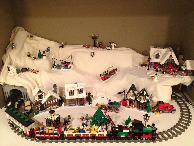 2012 Lego Winter Village   Flickr - Photo Sharing!