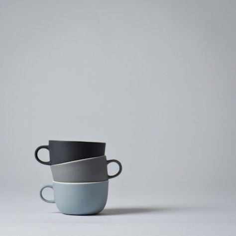 Mjölk : Linum teacup by Nathalie Lahdenmaki - Linum teacup. nice colour mix