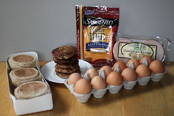 Can't wait to try this one!  Healthy Egg McMuffins to freeze for later.