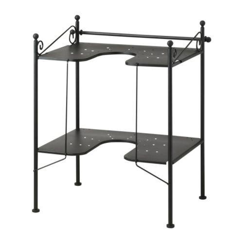 Under Sink Storage For Pedestal Sink : R?NNSK?R Sink shelf - IKEA should work under most sinks that have ...