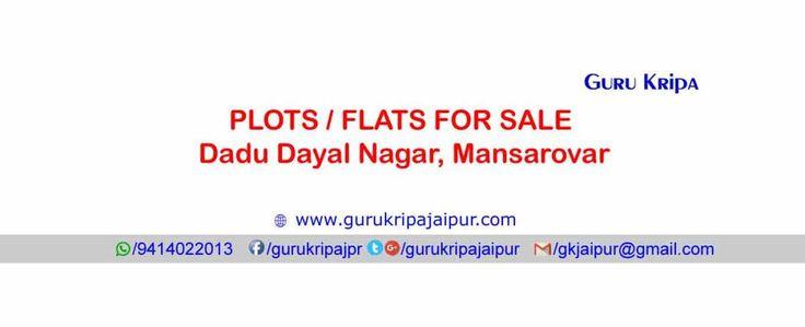 Dadu Dayal Nagar Jaipur JDA Approved Plots & Flats For Sell Near Mansarovar