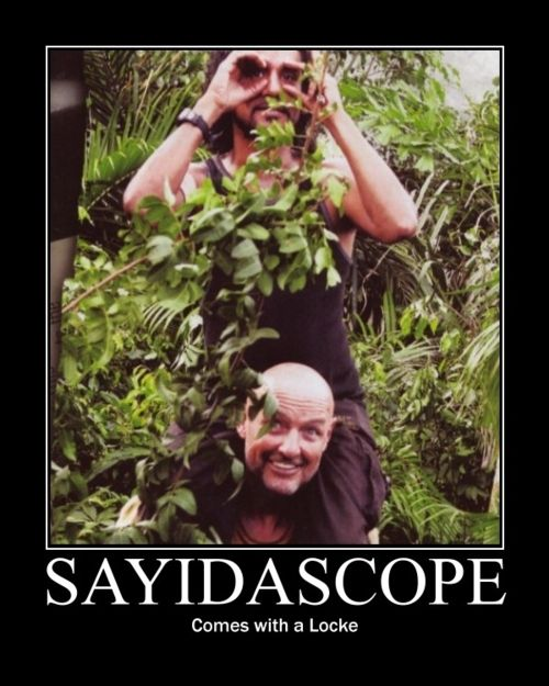LOST Humor. This is why I love the Lost cast. Ohhh Terry O'Quinn and Naveen Andrews.