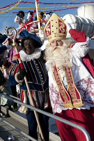 Sinterklaas en zwarte Piet België