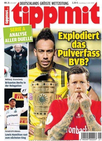 Explodiert das Pulverfass #BVB? ⚽  Jetzt in tippmit:  #Sportwette #DFBPokal #SGE #Endspiel