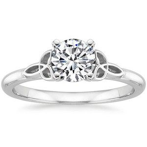 Top Engagement Rings - Celtic Love Knot Ring
