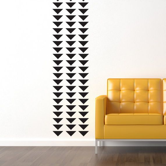 A renters dream!!!  Custom Modern Wallpaper Look Decals Vinyl Stickers by Decomod Walls