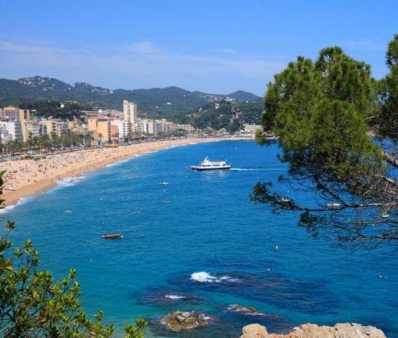 Lloret de Mar, Spain:  Spanish Riviera