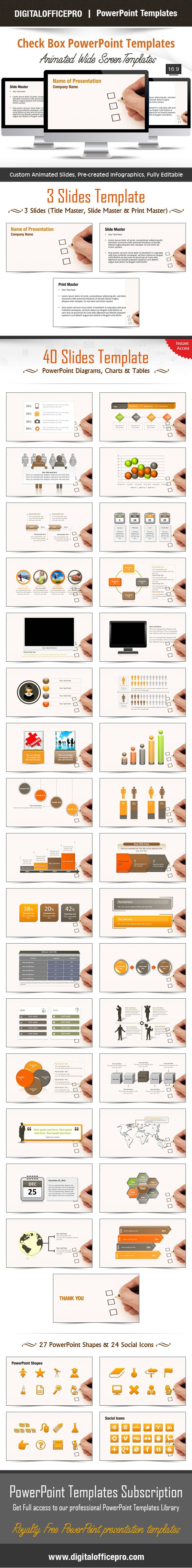 powerpoint templates for box charts .