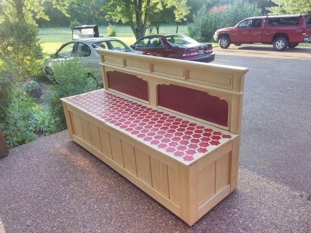 Storage Bench - I love the paint job!