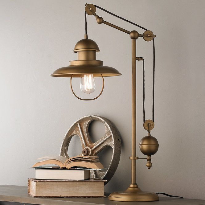 Modern Farmhouse Adjustable Table Lamp In 2020 Adjustable Table