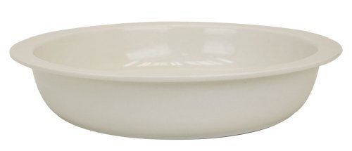 Buffet Enhancements 6.8 Quart Round Porcelain Chafing Dish Food Insert, fits 1BT1261d And 1BT15301 by Buffet Enhancements. $58.52. Thermal shock resistant. Oven, microwave and freezer safe. Fits 1BT1261D and 1BT15301. Scratch and chip resistant. Dishwasher safe. New Bone Chafing dish food pans fit both Classic and Large New Age round chafers. New Bone china food pans are resistant to themal shock. Rugged, microwave, oven, freezer and dishwasher safe. Keep food h...